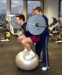 ball-squat